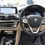 2018 BMW X3 Mineral White dashboard driver side