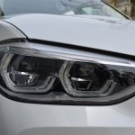 2018 BMW X3 Mineral White headlamp