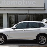 2018 BMW X3 Mineral White profile