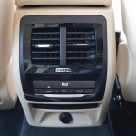 2018 BMW X3 Mineral White rear air vents