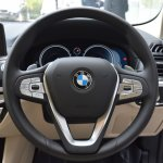 2018 BMW X3 Mineral White steering wheel