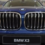 2018 BMW X3 Phytonic Blue Kidney Grille