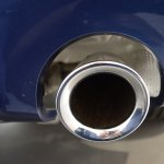 2018 BMW X3 Phytonic Blue exhaust pipe
