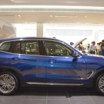 2018 BMW X3 Phytonic Blue profile