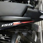 2018 Bajaj Pulsar 150 UG5 spied by IAB reader grab rails