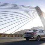 2018 Ford Focus Sedan rear three quarters dynamic