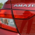 2018 Honda Amaze tail light
