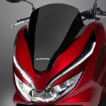 2018 Honda PCX125 press headlight