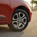 2018 Hyundai i20 facelift review alloy wheel