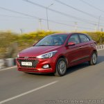2018 Hyundai i20 facelift review front angle action