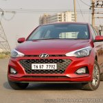 2018 Hyundai i20 facelift review front angle