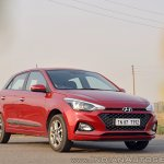 2018 Hyundai i20 facelift review front three quarters shot