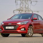 2018 Hyundai i20 facelift review front three quarters