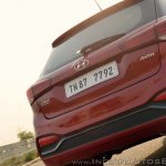 2018 Hyundai i20 facelift review rear detail