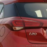 2018 Hyundai i20 facelift review tail light