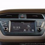 2018 Hyundai i20 facelift review touchscreen