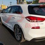 2018 Hyundai i30 spotted testing in India rear