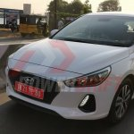 2018 Hyundai i30 spotted testing in India