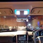2018 Mahindra XUV500 facelift cabin light