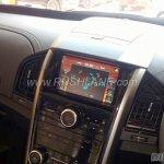 2018 Mahindra XUV500 facelift centre console