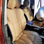 2018 Mahindra XUV500 facelift front seats