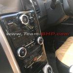 2018 Mahindra XUV500 facelift interior centre console
