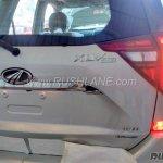 2018 Mahindra XUV500 facelift rear badge