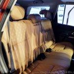 2018 Mahindra XUV500 facelift rear seats