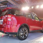 2018 Mahindra XUV500 facelift rear three quarters low