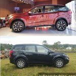 2018 Mahindra XUV500 vs 2015 Mahindra XUV500 side