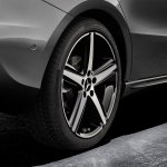 2018 Mercedes A-Class 19-inch alloy wheels official image