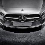 2018 Mercedes A-Class front apron spoiler lip