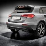 2018 Mercedes A-Class rear spoiler