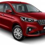 2018 Suzuki Ertiga (2018 Maruti Ertiga) Pearl Radiant Red