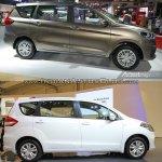 2018 Suzuki Ertiga vs. 2015 Suzuki Ertiga profile