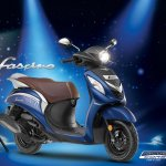 2018 Yamaha Fascino press Blue