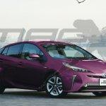 2019 Toyota Prius front three quarters rendering
