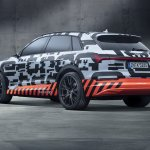 Audi e-tron prototype rear three quarters