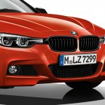 BMW 3 Series Shadow Edition M Sport front fascia