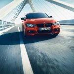 BMW 3 Series Shadow Edition M Sport front