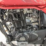 Bajaj Avenger 180 Street test ride review engine left side