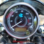 Bajaj Avenger 180 Street test ride review instrument cluster off