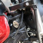 Bajaj Avenger 180 Street test ride review lock slot