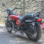 Bajaj Avenger 180 Street test ride review rear left quarter