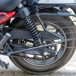 Bajaj Avenger 180 Street test ride review rear suspension