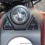 Bajaj Avenger 180 Street test ride review tank console