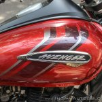 Bajaj Avenger 180 Street test ride review tank logo