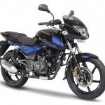 Bajaj Pulsar 150 Twin Disc variant press front angle