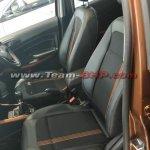 Ford EcoSport Titanium S front seats