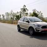 Ford Freestyle review front three quarters motion shot